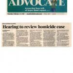 2011 - 02-08-2011 Stamford Advocate