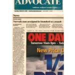 2011 - 03-29-2011 Stamford Advocate