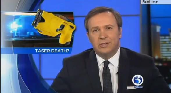 WFSB - Taser Causes Death